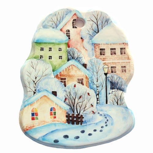 Сырная доска Снегири в городе малая
