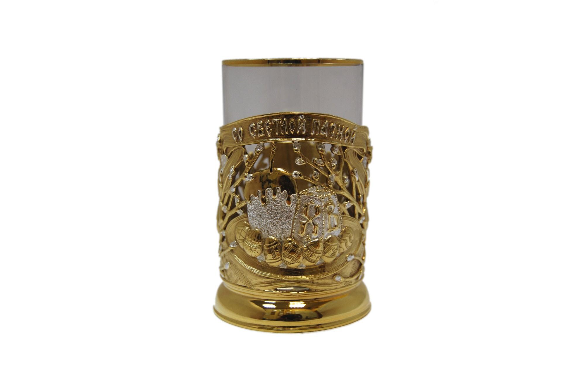 Подарочный подстаканник для чая Рождественский кулич