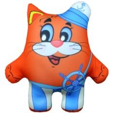 Игрушка-антистресс Морячок (цвет — оранжевый)