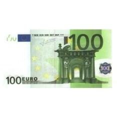 Прикольные наклейки 100 евро