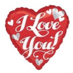 Шар-сердце I LOVE YOU!