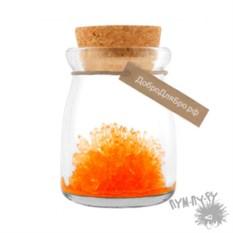 Кристалл в баночке Мистик (оранжевый)