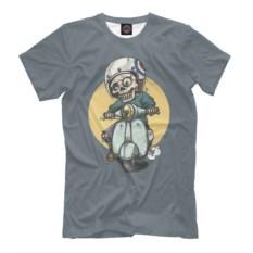 Мужская футболка Мопед