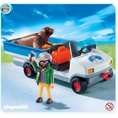 Автомобиль для зоопарка