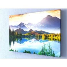 Фотокартина Волшебное озеро в горах