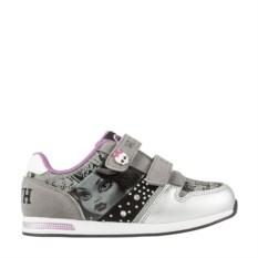 Бело-серые кроссовки для девочки Monster High