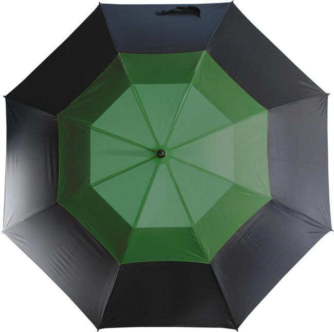 Механический противоштормовой зонт-трость Monsun, зеленый