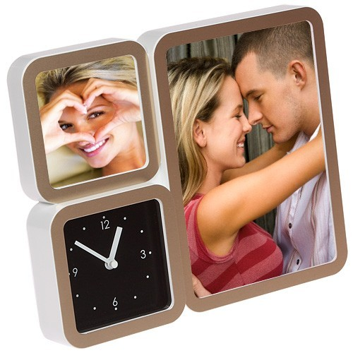 Часы с фоторамкой «Happy»