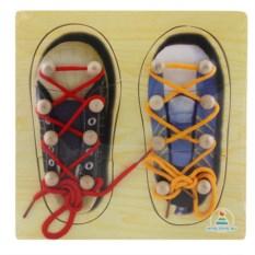 Шнуровка-пазл «Обувь»