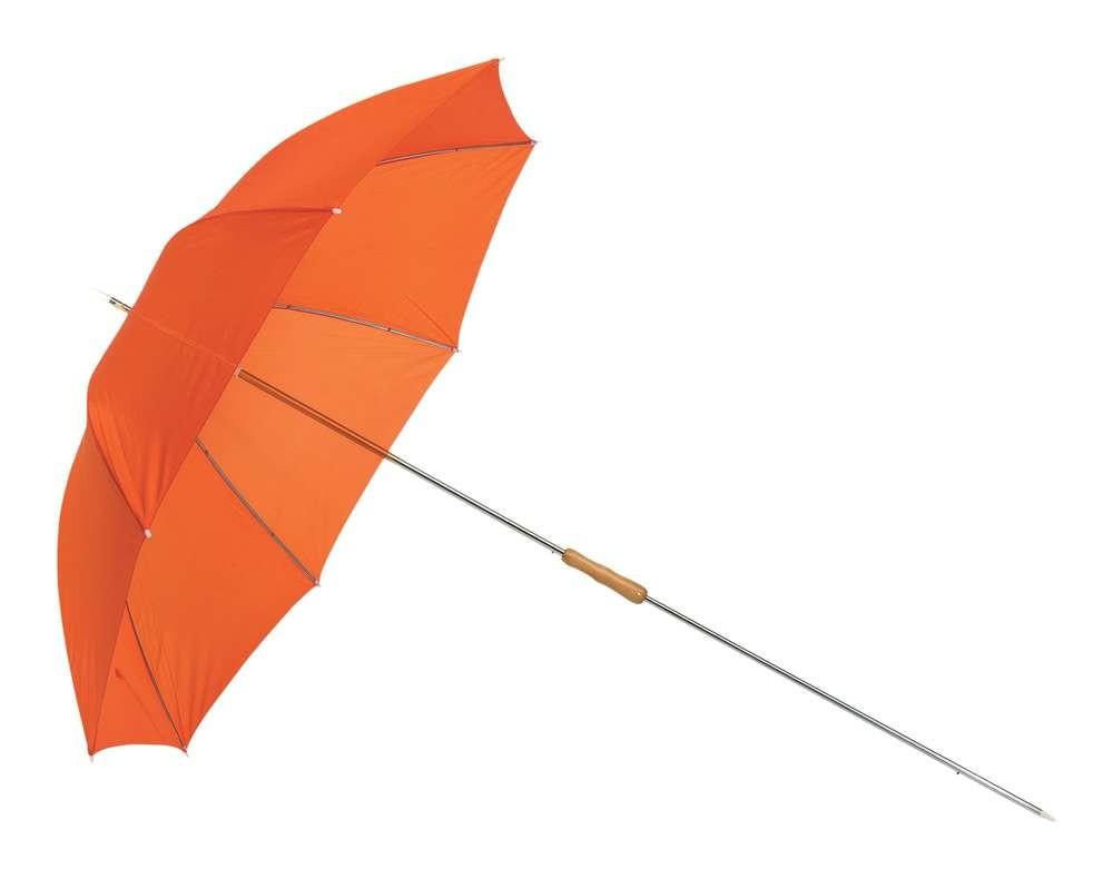 Оранжевый пляжный  зонт