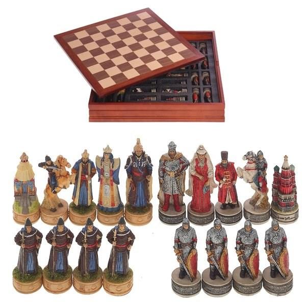 монгольские шахматы название фигур картинки