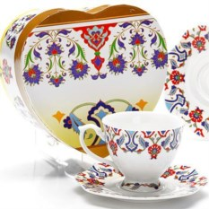 Чайная пара из чашки 180 мл и блюдца Lorain