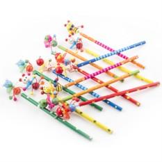 Набор карандашей на пружинке №4