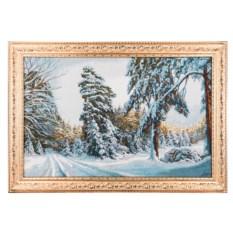 Гобеленовая картина Зимушка-зима