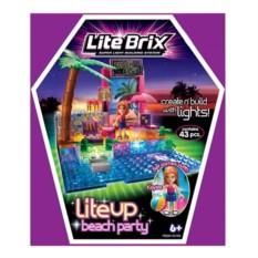 Конструктор Lite Brix Пляжная вечеринка с подсветкой