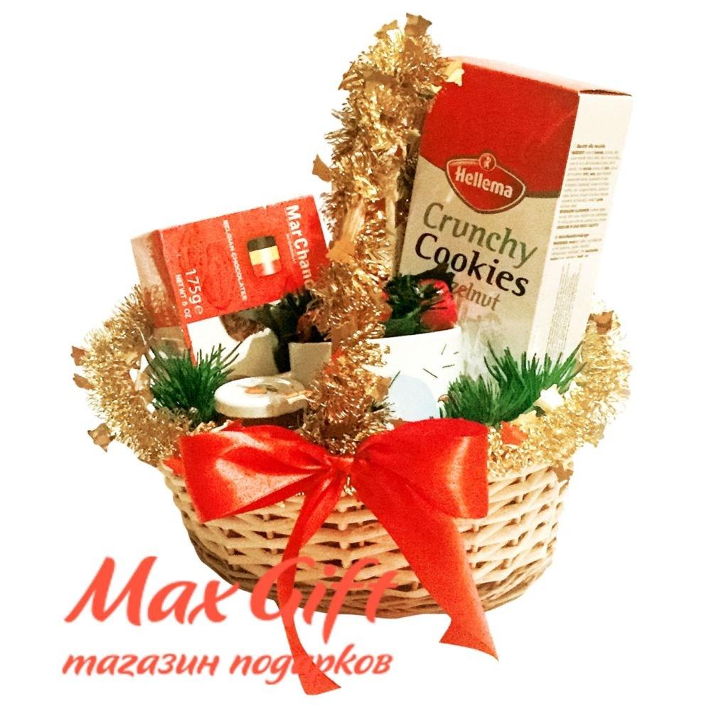 Корзина Рождественский презент