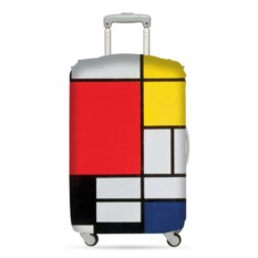 Чехол для чемодана LOQI Museum Piet Mondrian