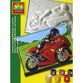 Барельеф «Мотоцикл»