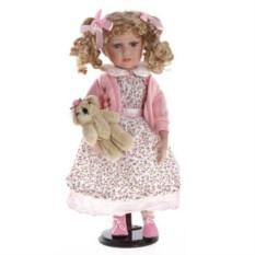 Фарфоровая кукла Лена