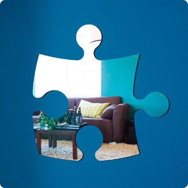 Фигурное зеркало Puzzle