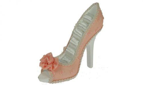 Подставка для колец Розовая туфелька