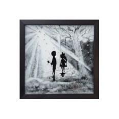 Картина с кристаллами Свет любви