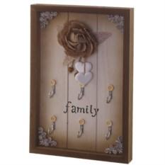 Настенная ключница Семейная