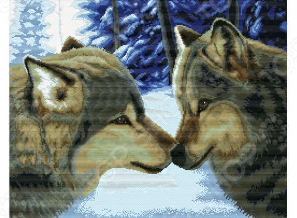 Набор для вышивания Белоснежка. Два волка