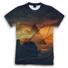 Мужская футболка 3D с полной запечаткой 30 seconds to mars