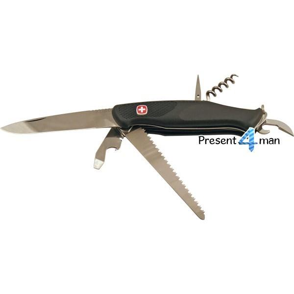 Нож швейцарский раскладной New_Ranger (Wenger)