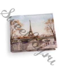 Кожаная обложка для студенческого Paris