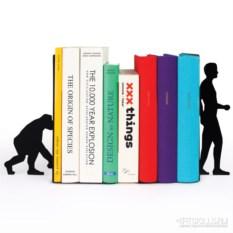 Черный ограничитель для книг Еvolution