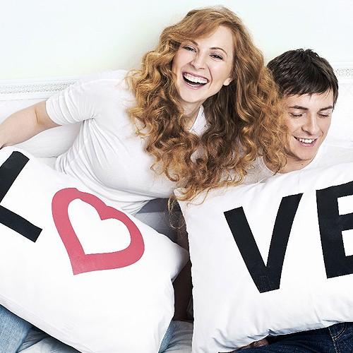 Наволочки для влюбленных Love