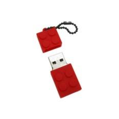 Флешка LEGO (цвет — красный)