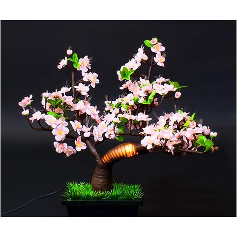 Светильник в виде бонсаи «Цветущая сакура»