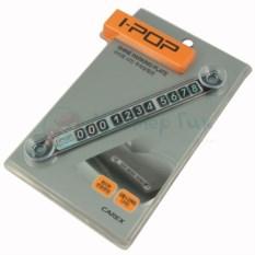 Табличка на авто с номером телефона I-Pop Parking Plate