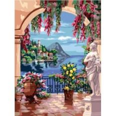 Раскраски по номерам Ravensburger Итальянский пейзаж