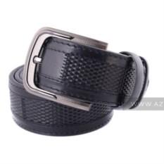Мужской кожаный ремень (цвет: черный)