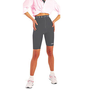 Антицеллюлитные шорты Cislista - цвет серый