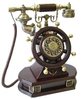 Телефон-ретро  Штурвал