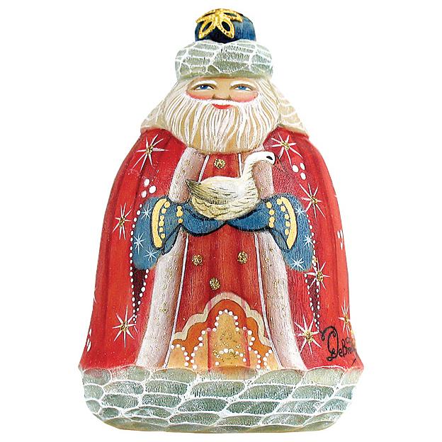 Украшение «Дед Мороз с гусем»