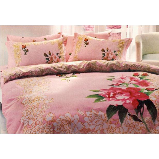Постельное белье Clarie розовый