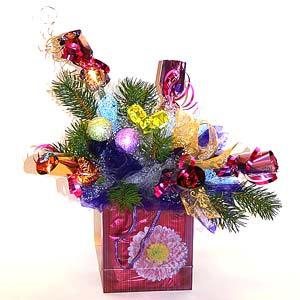 Букет «Новогодняя тайна»