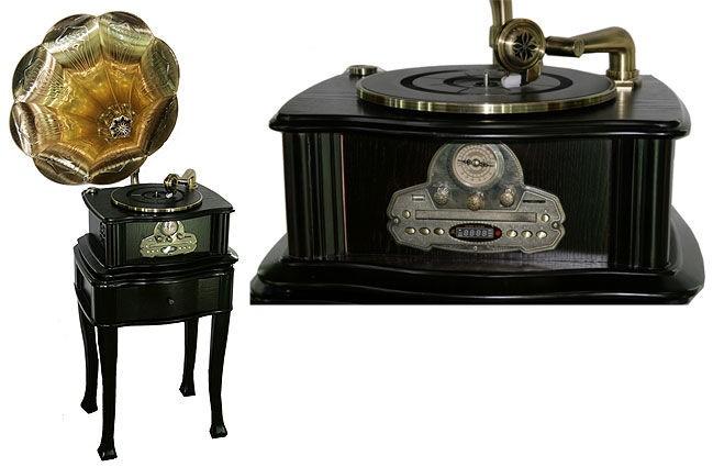 Граммофон в стиле ретро France