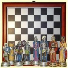 Шахматы Христиане и арабы с доской