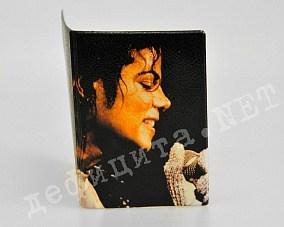 Обложка для паспорта «Майкл Джексон»