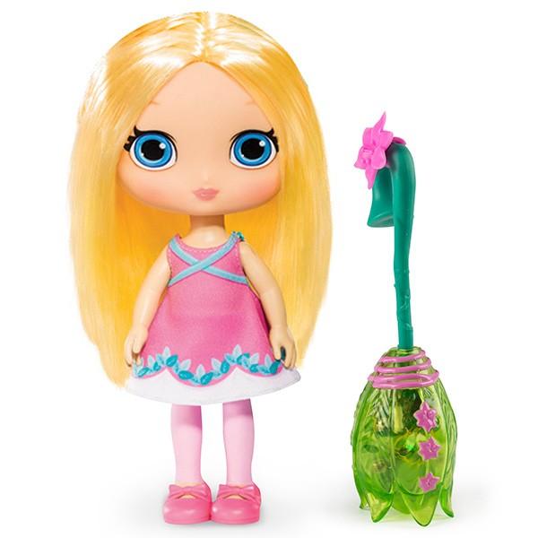 Кукла Little Charmers Posie 20 см с метлой (свет и звук)