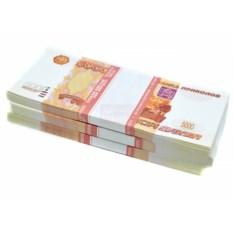 Забавная пачка денег Рубли