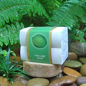 Натуральное мыло «Тайский лайм»