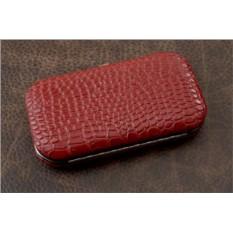 Маникюрный набор, коллекция Nail Care (бордовый)